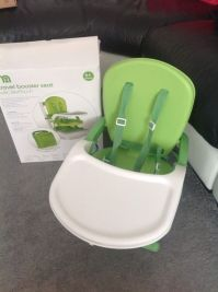 Mothercare Travel Booster Seat/Portable 'high chair'   in ...
