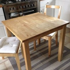 Dining Room Table And Chairs Gumtree Best Desk For Sciatica Ikea Norden & 2 Bertil With Seatpads | In Talke, Staffordshire
