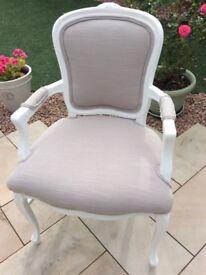 bedroom chair gumtree ferndown round base black covers in dorset louis xvi style armchair beautiful