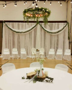 chair cover rentals peterborough hardwood floor protector backdrop find or advertise wedding services in calgary tablecloths for rent 6 00 each covers