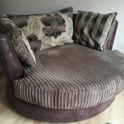 Dfs Corner Sofa And Swivel Chair Modern Beds Canada Brown 'infinity' Large (armchair)   In ...