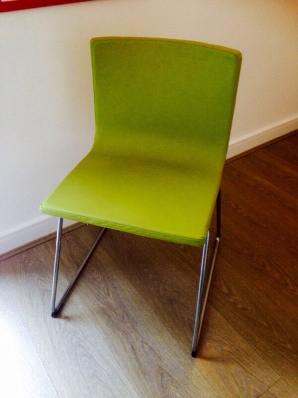 Lime Green Dining Chair  Ikea Bernhard 35  in Hove