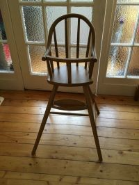 Wooden High Chair/Toddler Chair: IKEA: Gulliver | in ...