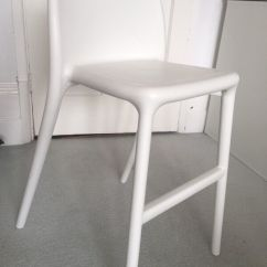 Brown Leather Rocking Chair Tall Wingback White Ikea Urban Junior In Excellent Condition | Gosport, Hampshire Gumtree