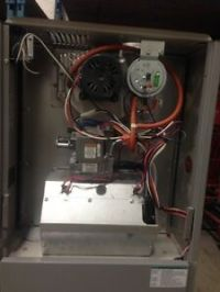 Used mid efficiency gas furnace   heating, cooling, air ...