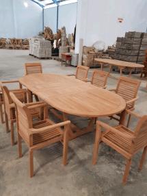 solid teak garden furniture