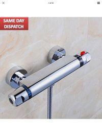 Thermostatic bar shower mixer valve new