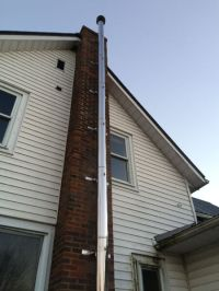 Oil furnace chimney | heating, cooling, air | Brockville ...