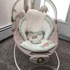 Baby Chair That Vibrates Reclining Beach Bouncer | Kijiji: Free Classifieds In Red Deer. Find A Job, Buy Car, House Or Apartment ...
