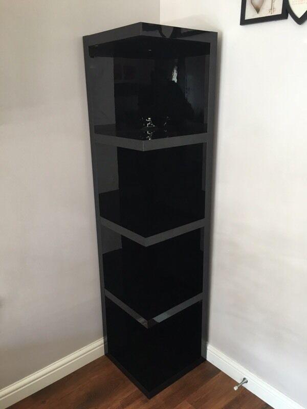 Next Black Gloss Corner Unit In Stirling Gumtree