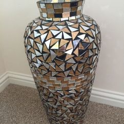 Large Vase For Living Room Wall Hangings Urn Pot Mosaic Mirror Style | In Inverness ...
