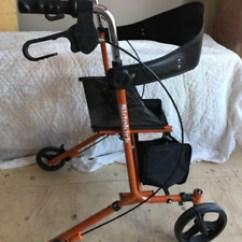 Walker Transport Chair In One Hugo Navigator Covers Walmart Or Local Health Special Needs Items Canada Kijiji Rollator