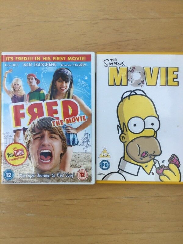 2 dvds the simpsons