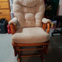 Swivel Chairs Kijiji Peterborough Modern Accent For Living Room Glider Chair Buy Or Sell Recliners In Area Gliding Rocking W Foot Stool