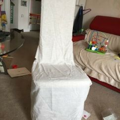 Recliner Chair Covers Dunelm For Chairs With Wooden Arms 4 Polylinen New In Cambridge