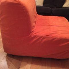 Ikea Orange Chair Covers Wooden Massage Lycksele Lovas Bed In Cheerful Orange. | Marylebone, London Gumtree