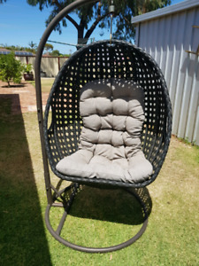 hanging chair mitre 10 chicco 360 high egg garden gumtree australia free local classifieds