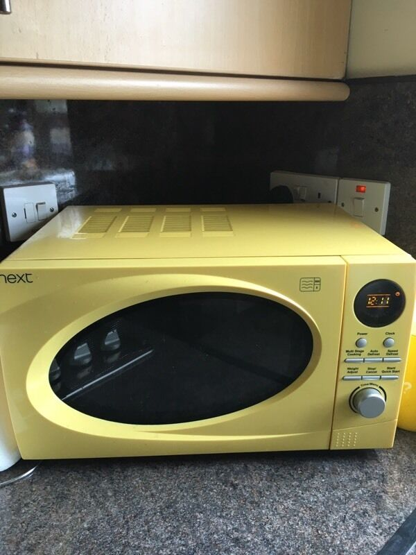 Yellow Microwave BestMicrowave