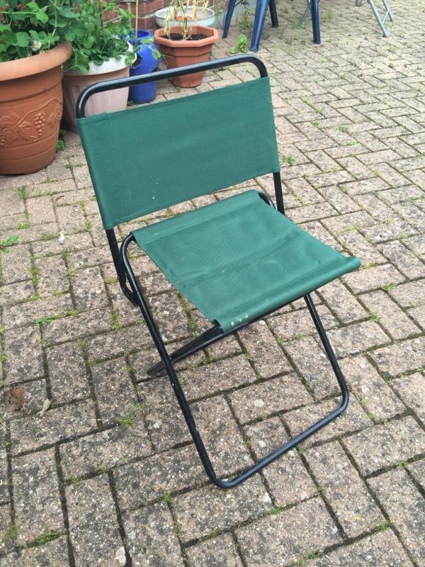 Shakespeare Folding Fishing Chair Stool