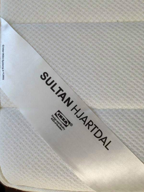 Ikea Sultan Hjartdal Single Mattress X 2 80cmx200cm Brand New Rrp