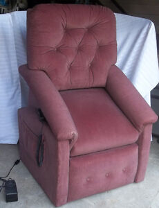 swivel chairs kijiji peterborough mainstays faux fur saucer chair recliner | buy or sell & recliners in ontario classifieds