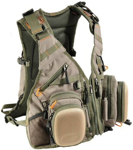 Airflo-Outlander-Vest-and-15Ltr-Back-Pack-Fly-Fishing-Vest-Ex-Demo