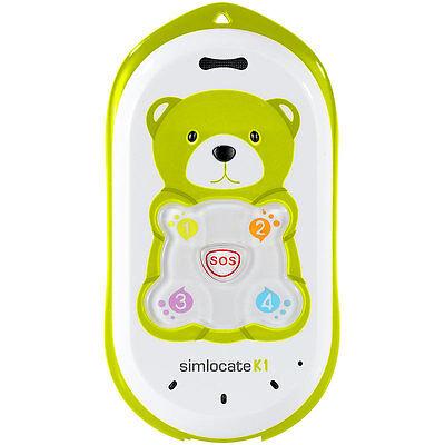 Kinderhandy mit GPS: Kinder-Handy simlocate K1 mit Garantruf & GPS-Ortung