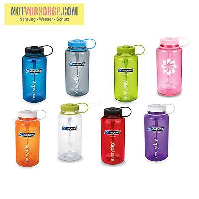 Trinkflasche NALGENE Everyday 1 L Weithals Wasserflasche Trink Flasche WASSER