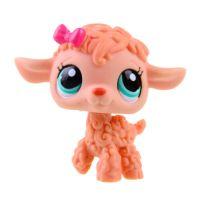 Rare Hasbro Littlest Pet Shop LPS Orange Curly Sheep Lamb ...