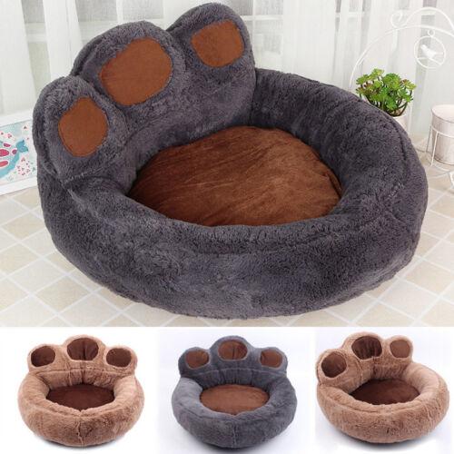 Hundebett Hundekissen Katzenbett Hundesofa Hundekorb Tierbett S~XL Paw Blanket