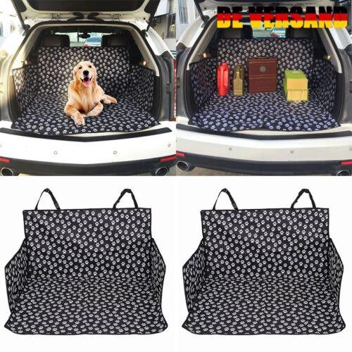 Universal Kofferraumschutz Hunde Auto Autoschondecke mit Seitenschutz Hundedecke