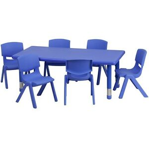 Preschool Table And Chairs