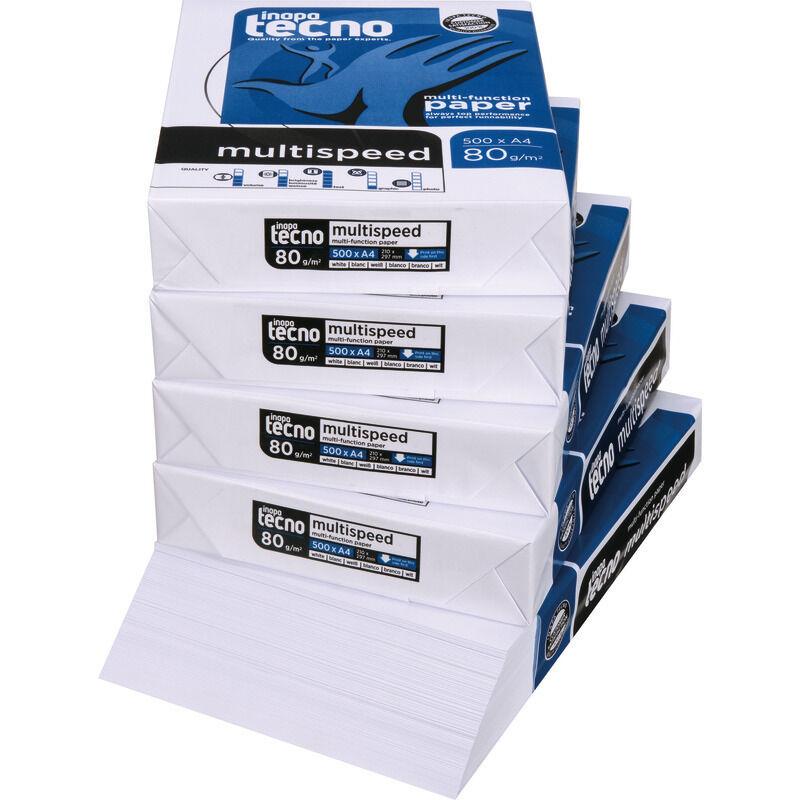 Kopierpapier A4 echte 80g ! 10.000 Blatt Druckerpapier Fax+Laser+Copy+Duplex