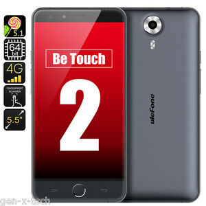 Ulefone Be Touch 2 LTE 4G 5.5 Android 5.1 Dual Sim Mobile: 1.7GHz CPU 3GB Ram