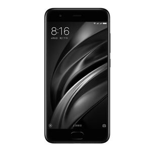 New Xiaomi Mi 6 Dual SIM 4G LTE Unlocked Smartphone - 6GB RAM+128GB - Black