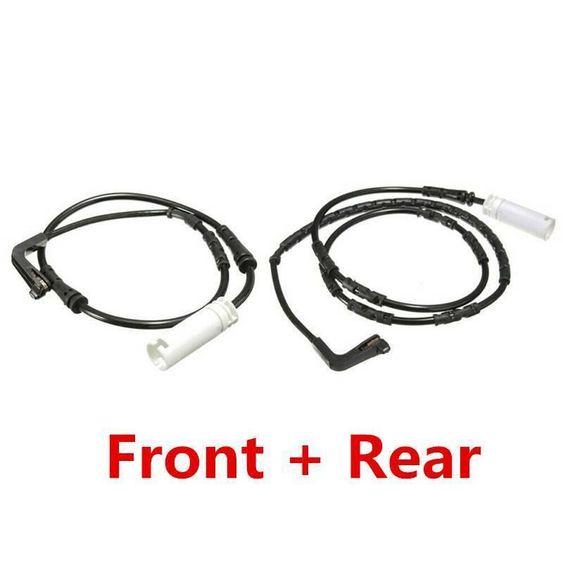 Front +Rear Brake Pad Wear Sensor Set For BMW 1/3 Series
