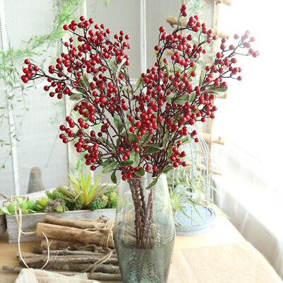 Dekorativ Blaubeere Früchte Beeren Künstliche Blumen Für Hochzeit Wohndeko