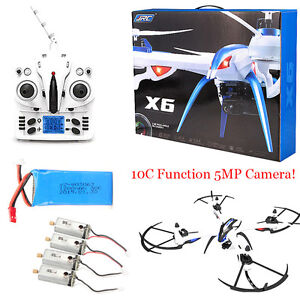 JJRC H16 Tarantula X6 drone 4CH RC Quadcopter 5MP Cam Hyper IOC+4 Motor+Battery