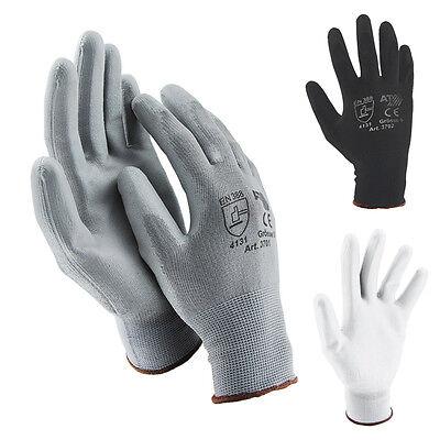 Arbeitshandschuhe Mechanikerhandschuhe PU Handschuhe Montagehandschuhe Nylon