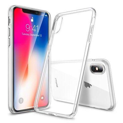 CoverKingz Apple iPhone Xs/iPhone X Hülle Soft-Case ultra-slim 0,8mm transparent