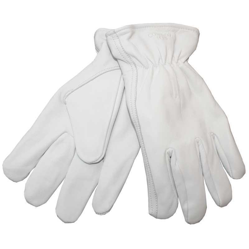 OX-ON Cowboy Winter Arbeitshandschuhe, Lederhandschuhe warm gefüttert, Gr. 8-12