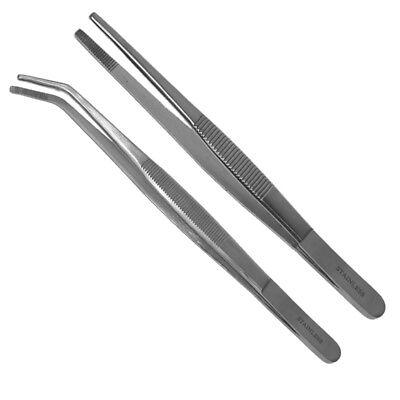 Anatomische Pinzetten 14,5cm 30cm oder 35cm gerade und gebogen