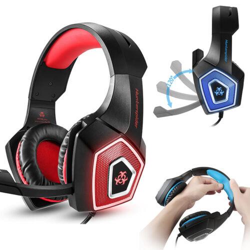 Gaming Headset für PS4 Xbox One PC mit Mikrofon Stereo Sound Gaming Kopfhörer