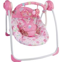 Bright stars baby swing in pink