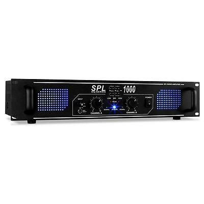 SKYTEC DJ PA ENDSTUFE HIFI LED STEREO VERSTÄRKER 2800W