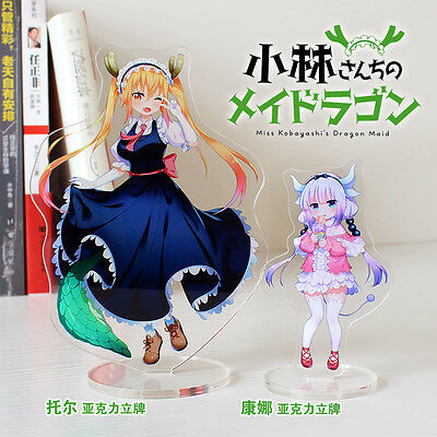 Kobayashi San Dragon Maid Tooru Canna Acrylic Standing Furnishing Articles