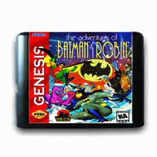 The Adventure Of Batman Robin 16 Bit Sega Md Game Card