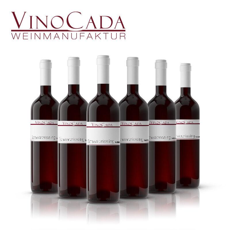 Weinpaket Schwarzriesling rot 6 Fl. 0,75L halbtrocken Rheinhessen VinoCada