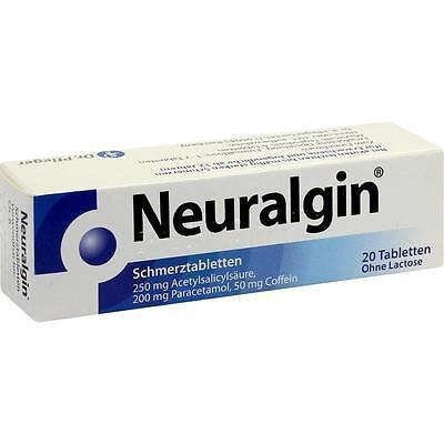 Neuralgin Schmerztabletten   20 st   PZN3875041