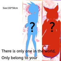 Anime Custom Made Dakimakura DIY Hugging Body Pillow Cover ...